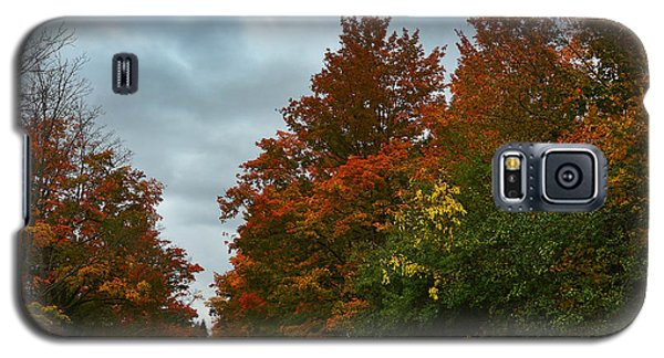 Fall Colors Dramatic Sky Galaxy S5 Case