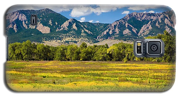 Fall Colors Of Boulder Colorado Galaxy S5 Case