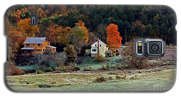 Galaxy S5 Case featuring the photograph Fall Country Side - Vt2015 by Joe Finney