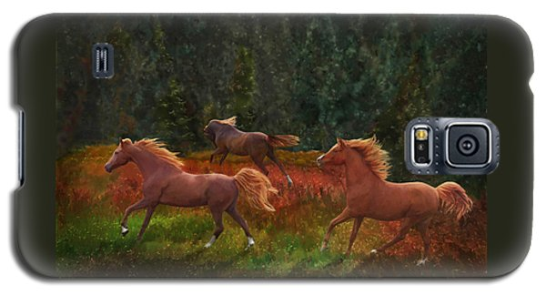 Fall Dancers Galaxy S5 Case