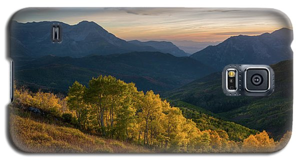 Fall Evening In American Fork Canyon Galaxy S5 Case