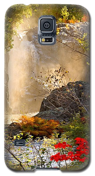 Fall Falls Mist  Dead River Falls  Marquette Mi Galaxy S5 Case