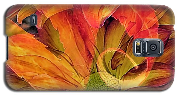 Fall Floral Composite Galaxy S5 Case