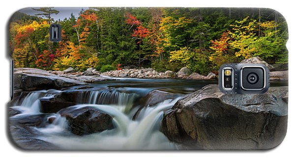 Galaxy S5 Case featuring the photograph Fall Foliage Along Swift River In White Mountains New Hampshire  by Ranjay Mitra