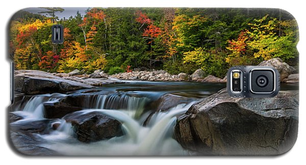 Fall Foliage Along Swift River In White Mountains New Hampshire  Galaxy S5 Case