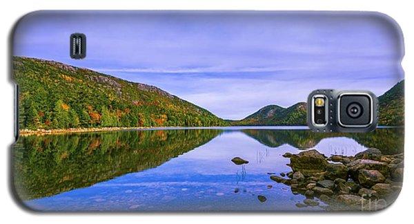 Fall Foliage At Jordan Pond. Galaxy S5 Case