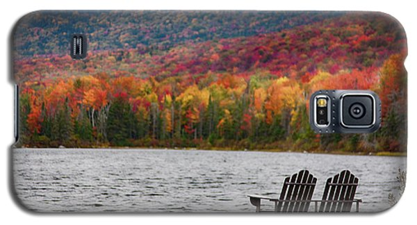 Fall Foliage At Noyes Pond Galaxy S5 Case