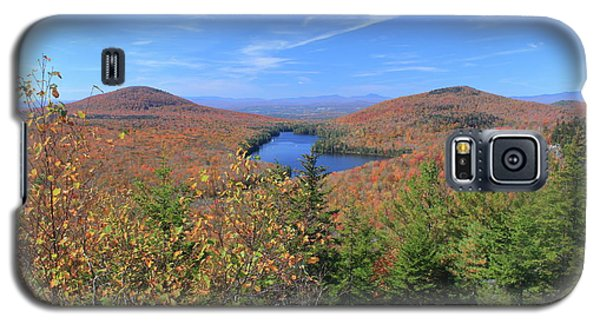 Fall Foliage At Owl's Head Groton State Forest Galaxy S5 Case by John Burk