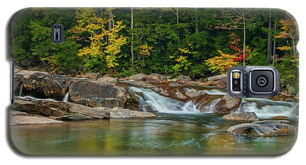 Fall Foliage In Autumn Along Swift River In New Hampshire Galaxy S5 Case