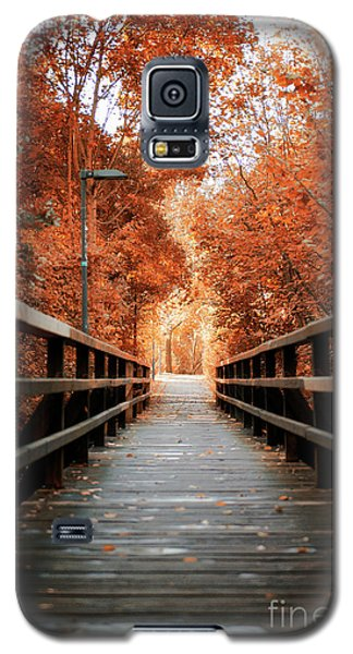 Galaxy S5 Case featuring the photograph Fall Foliage In The Heart Of Berlin by Ivy Ho