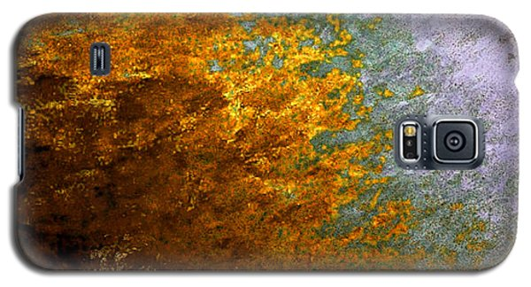 Galaxy S5 Case featuring the digital art Fall Foliage by John Krakora