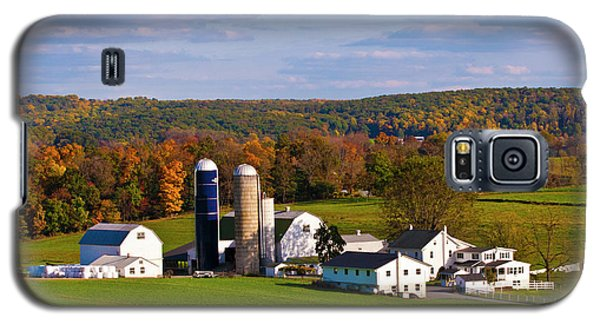 Fall In Amish Country Galaxy S5 Case by Lou Ford