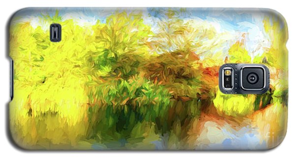 Galaxy S5 Case featuring the photograph Fall In Central Park by Jim  Hatch