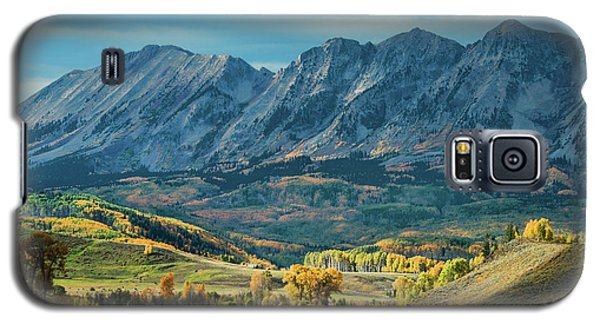 Galaxy S5 Case featuring the photograph Fall In Gunnison County by Dana Sohr
