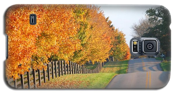 Fall In Horse Farm Country Galaxy S5 Case