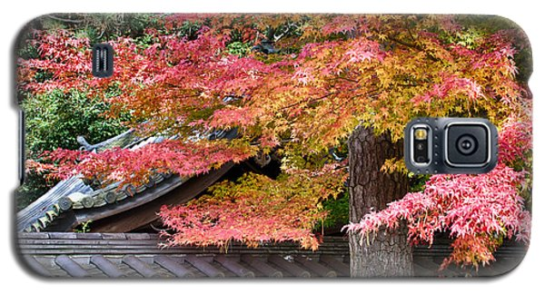 Galaxy S5 Case featuring the photograph Fall In Japan by Tad Kanazaki