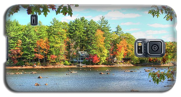 Fall In New England Galaxy S5 Case