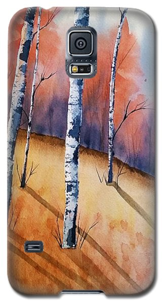 Fall In The Birches Galaxy S5 Case