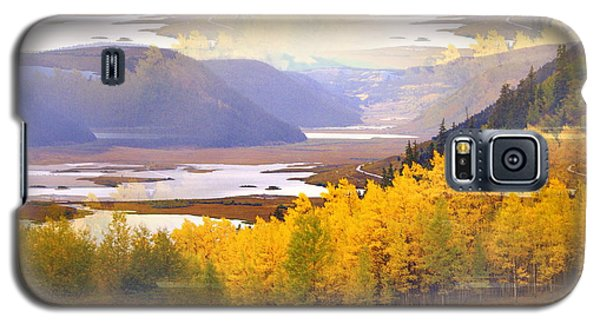 Fall In The Rockies Galaxy S5 Case