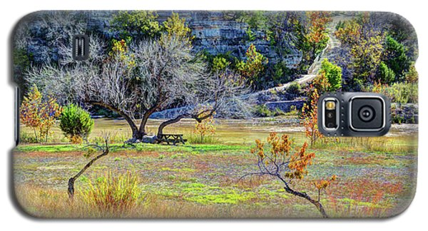 Fall In The Texas Hill Country Galaxy S5 Case