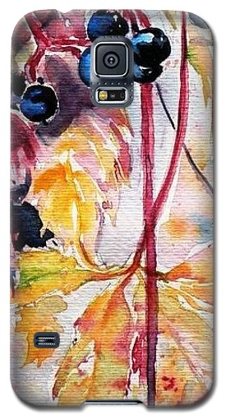 Galaxy S5 Case featuring the painting Fall by Kovacs Anna Brigitta