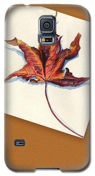 Fall Leaf Galaxy S5 Case