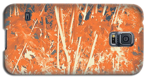 Fall Leaves #3 Galaxy S5 Case