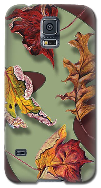 Fall Leaves Card Galaxy S5 Case