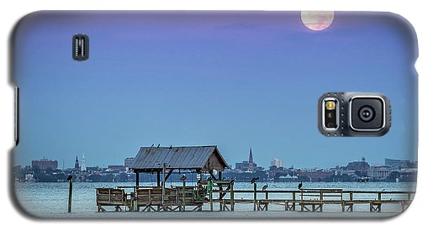 Fall Moon And King Tide - Charleston Sc Galaxy S5 Case
