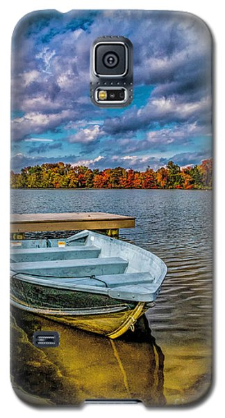 Fall On Alloway Lake Galaxy S5 Case