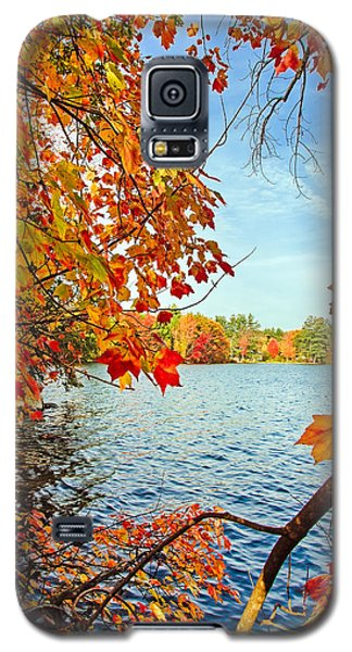 Fall On Lake Opechee Galaxy S5 Case