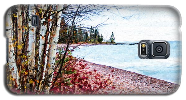 Fall On Lake Superior Galaxy S5 Case