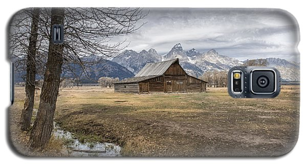 Galaxy S5 Case featuring the photograph Fall On Mormon Row - Grand Teton National Park by Sandra Bronstein