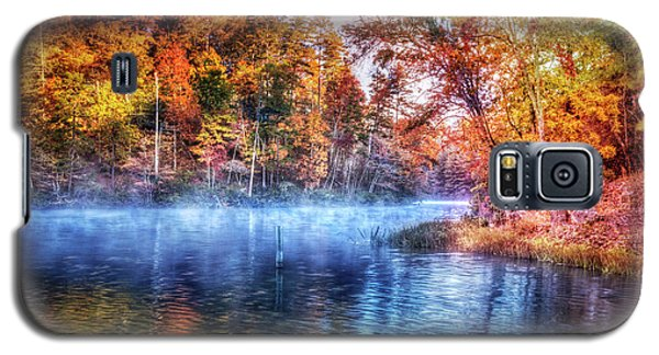 Galaxy S5 Case featuring the photograph Fall On The Lake by Debra and Dave Vanderlaan