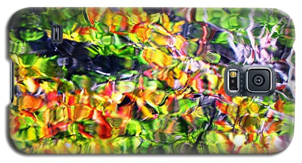 Fall On The Pond Galaxy S5 Case