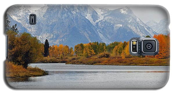 Fall On The Snake River In The Grand Tetons Galaxy S5 Case