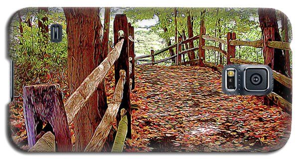 Fall Pathway Galaxy S5 Case