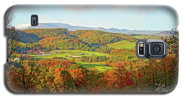 Fall Porch View Galaxy S5 Case