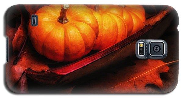 Fall Pumpkins Still Life Galaxy S5 Case by Tom Mc Nemar