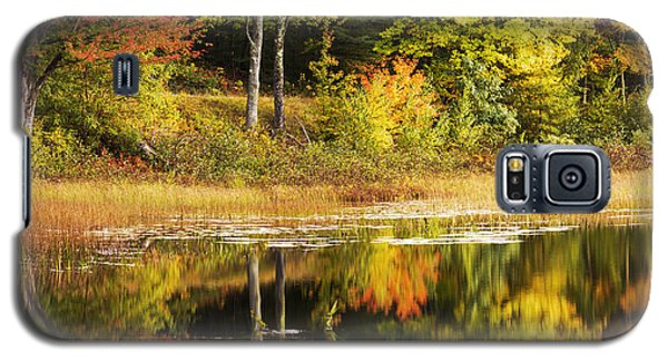 Galaxy S5 Case featuring the photograph Fall Reflection by Chad Dutson