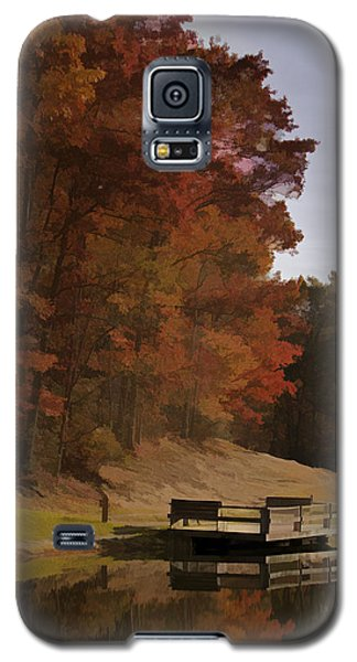 Fall Reflection Galaxy S5 Case