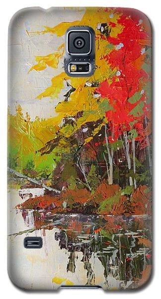 Fall Scene Galaxy S5 Case