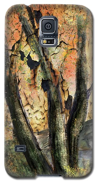 Galaxy S5 Case featuring the painting Fall Splendor  by Annette Berglund