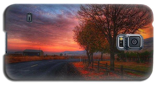 Fall Sunrise Galaxy S5 Case by Lynn Hopwood