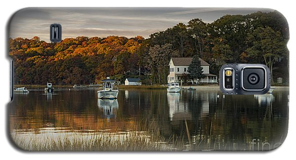 Fall Sunset In Centerport  Galaxy S5 Case