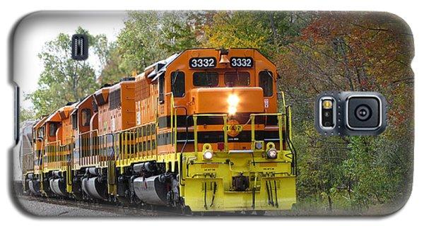 Fall Train In Color Galaxy S5 Case
