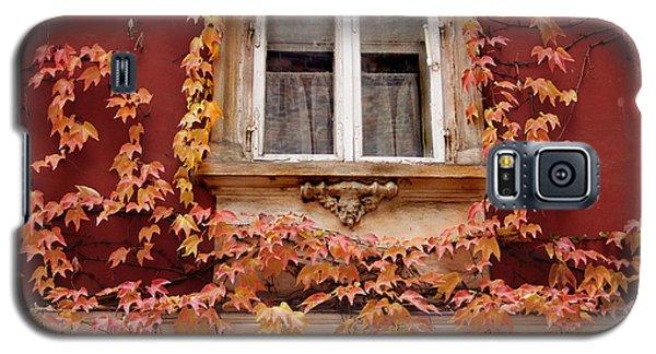 Fall Window,prague Galaxy S5 Case