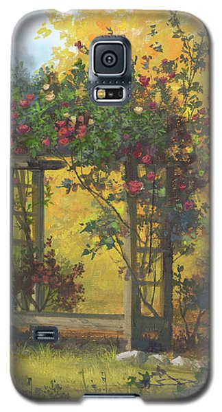 Fall Yellow Galaxy S5 Case by Michael Humphries