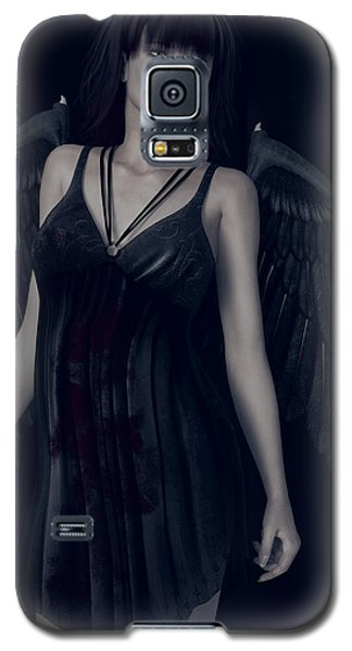 Fallen Angel - Dark And Gothic Galaxy S5 Case
