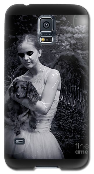 Galaxy S5 Case featuring the photograph Fallen Angel by Rebecca Margraf
